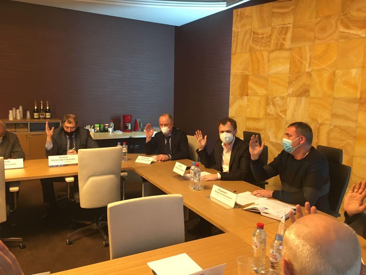 Заседание Совета ТПП Республики Крым в декабре 2020