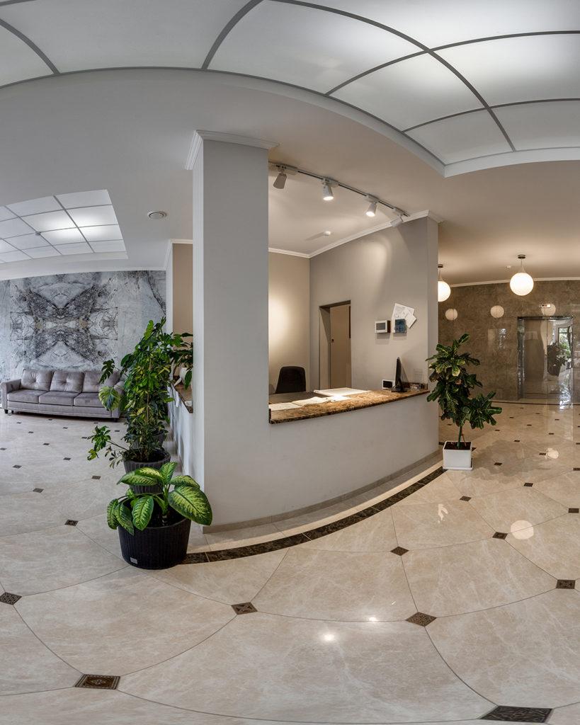 Фото'Видовая квартира свободной планировки 34,45 м. кв. в Ялте'